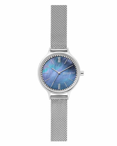 Skagen Anita Mother of Pearl Stainless Steel Ladies Watch