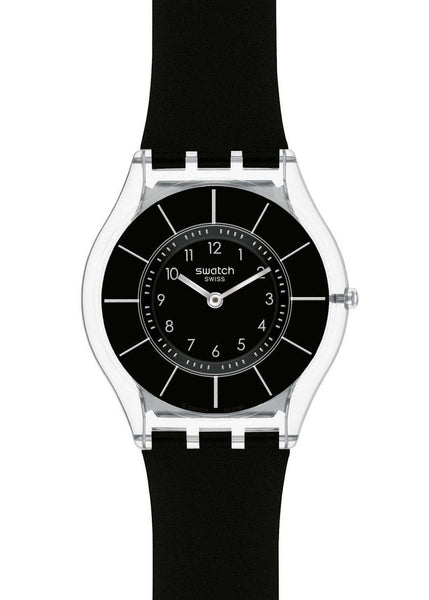 Swatch Black Classiness Unisex Watch