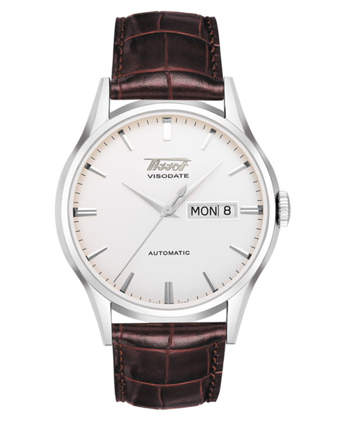 Tissot Heritage Visodate Automatic Gents Leather Strap Watch