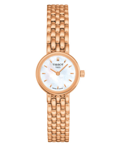 Tissot Lovely Ladies Rose Gold Plated Watch