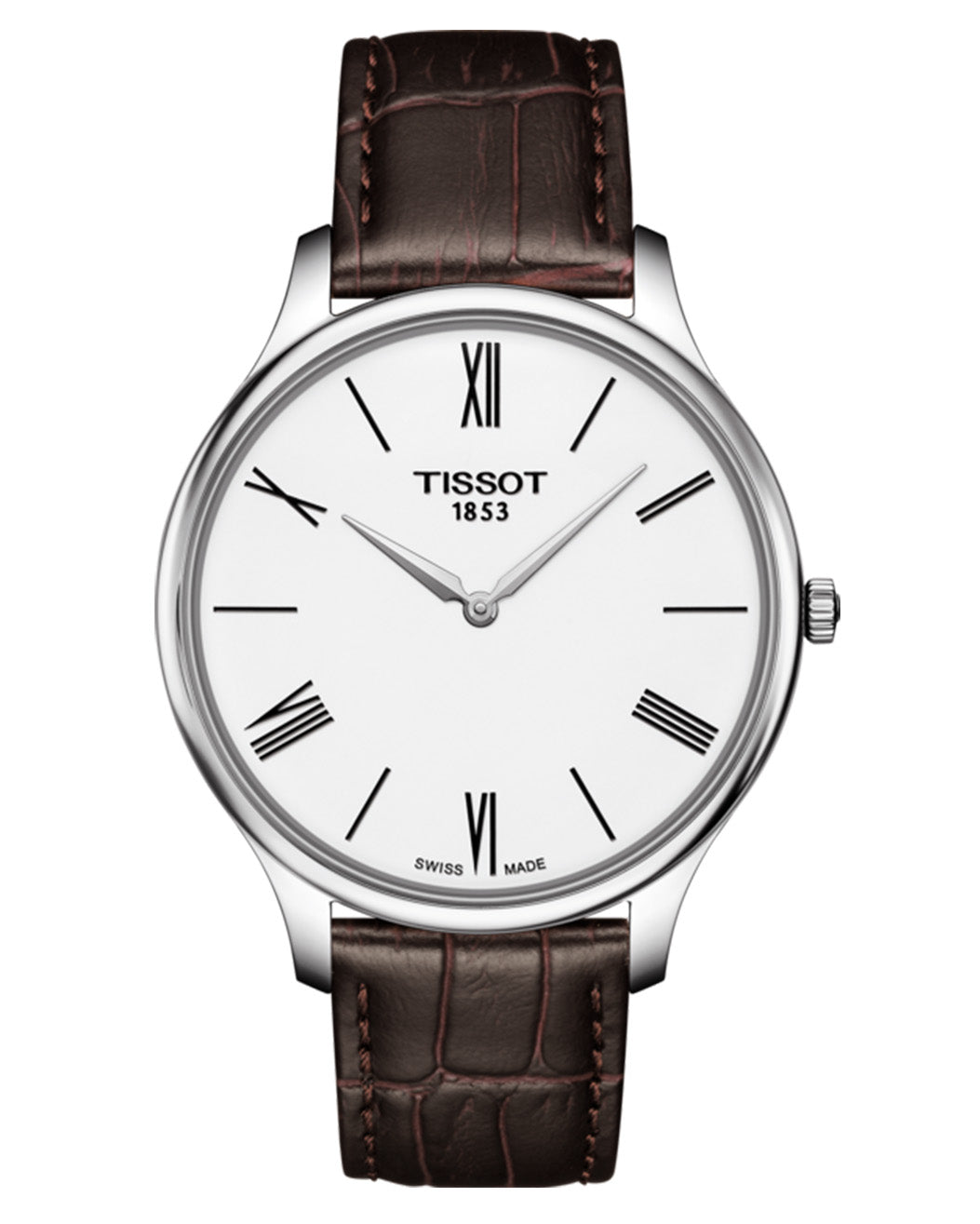 Tissot Tradition 5.5 Gents Leather Strap Watch