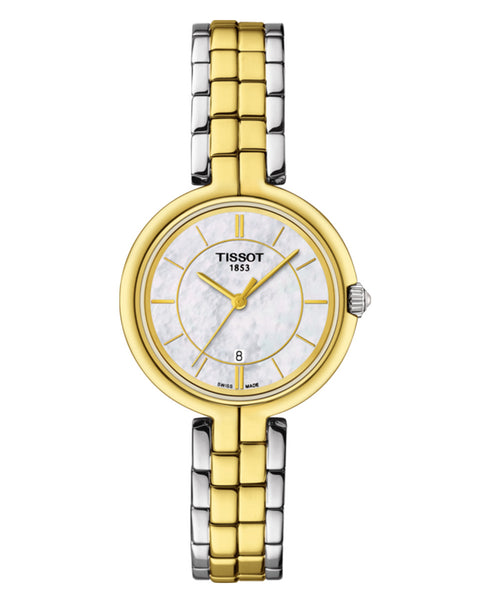 Tissot Flamingo Ladies Two-Tone Watch