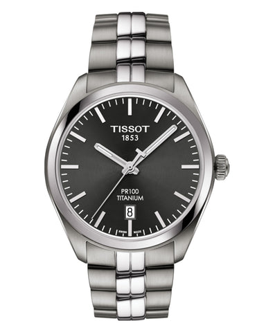 Tissot PR 100 Titanium Gents Watch