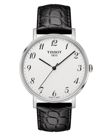 Tissot Everytime Medium Gents Leather Strap Watch