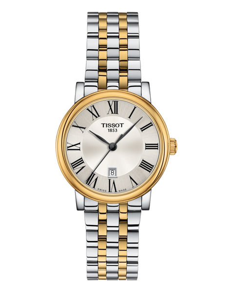 Tissot Carson Premium Ladies Two-Tone Watch
