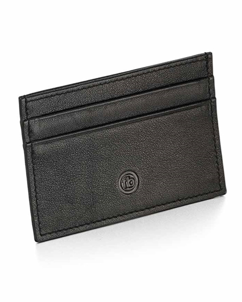 Fred Bennett Black Leather Card Holder