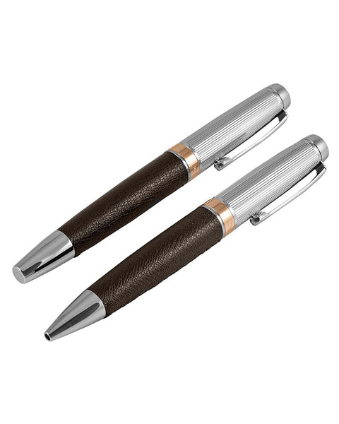 Jos Von Arx Chunky Leather Pen Set