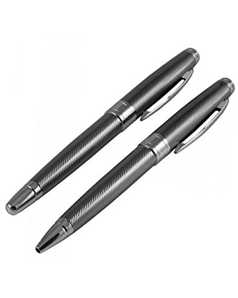 Jos Von Arx Gun Metal Grey Pen Set