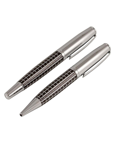 Jos Von Arx Chunky Square Pattern Pen Set