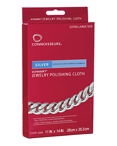 Silver Jewellery Polishing Cloth