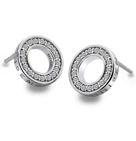 Emozioni Saturno Sterling Silver Earrings