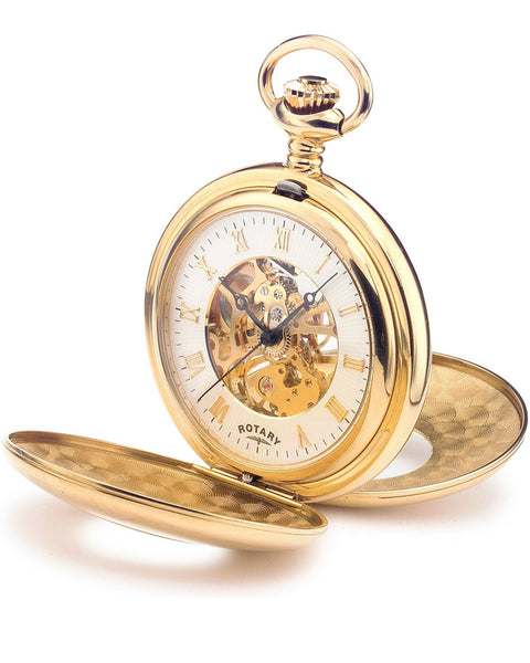 Rotary Timepieces Gents Gold-plated Case Watch MP00713/01