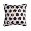 CHARACTER POLKA CUSHION