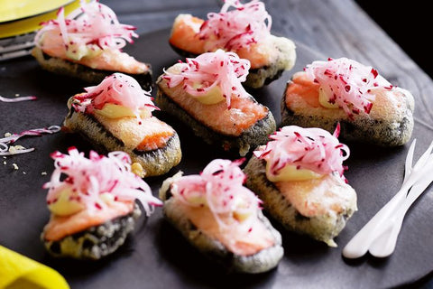 5 easy japanese canapes for parties recipes sushisushi recipe and image from taste australia forumfinder Image collections