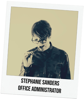 Stephanie Sanders, Office Administrator
