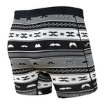 Ultra Boxer Brief With Fly Black Stache