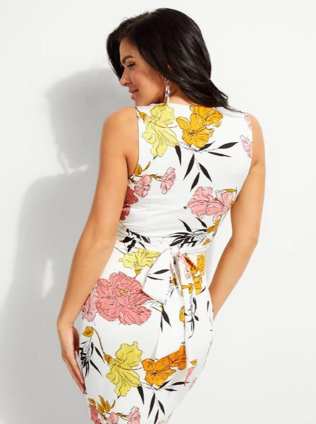 Tilla Floral Wrap Dress