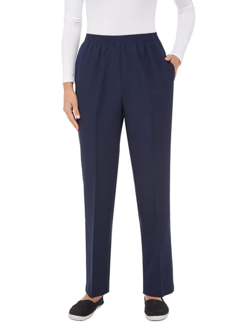 Feathertouch Pull On Straight Leg Pant