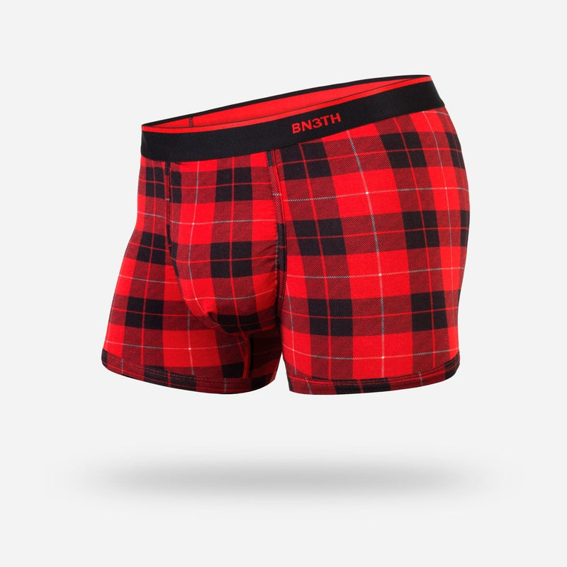Classic Trunk Fireside Plaid Red
