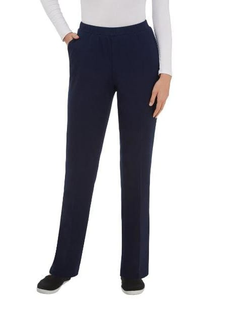 Pull-On San Remo Straight Leg Pant Navy