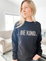 Be Kind Leopard Crew