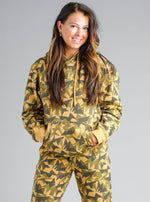 Jagged Camo Hoodie Gold Medal