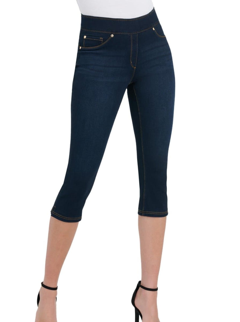 Slims Luxe Denim Capri