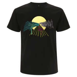 Post Tropical Graphic Line Foil Tee
