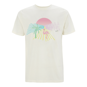 Post Tropical Graphic Line Tee