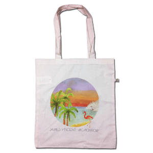 Post Tropical Watercolour Natural Tote