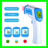 Digital Thermometer Infrared No Contact Medical LCD Display