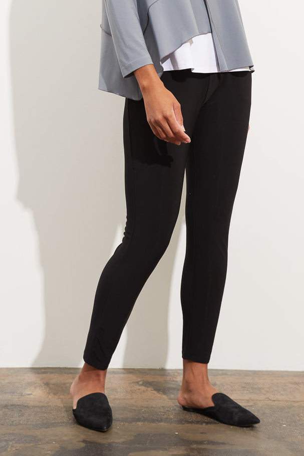 Black Foundation Knit Bella Pant