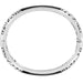 Catania Hinged Bangle Silver & Black