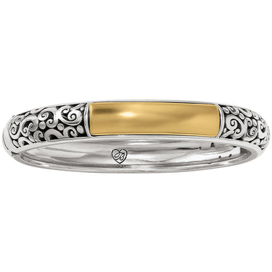 Catania 2 Tone Hinged Bangle