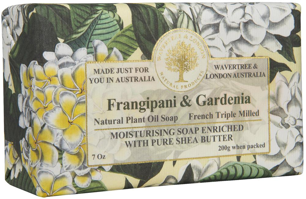 Frangipani & Gardenia Triple Milled Luxury Soap