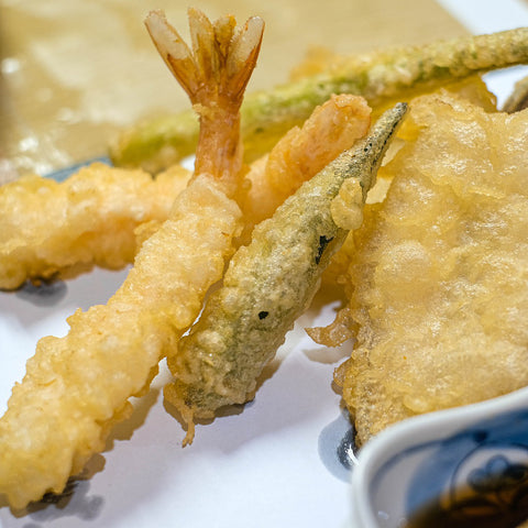 Vegan Japanese Food Tempura