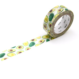 MT Masking Tape / Washi - Design: Avocados