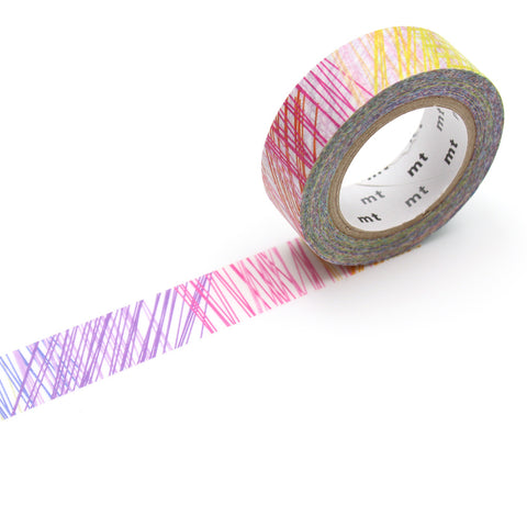 MT Masking Tape / Washi - Design: Scribble