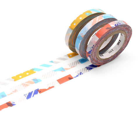 MT Masking Tape / Washi - Design: 3er Slim Deco G