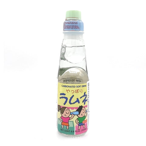 japanese Ramune lemonade bottle