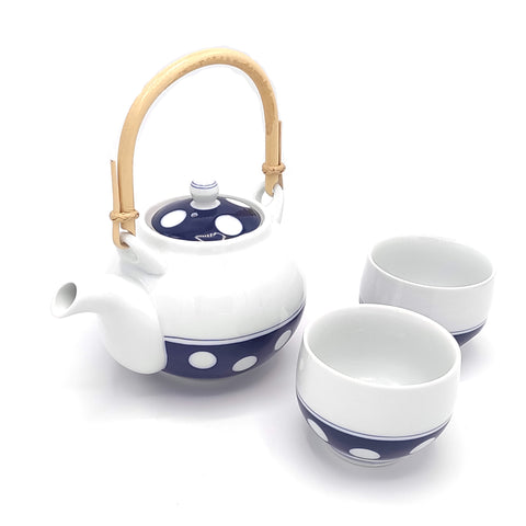 Hakusan Tea Set by Mori Masahiro