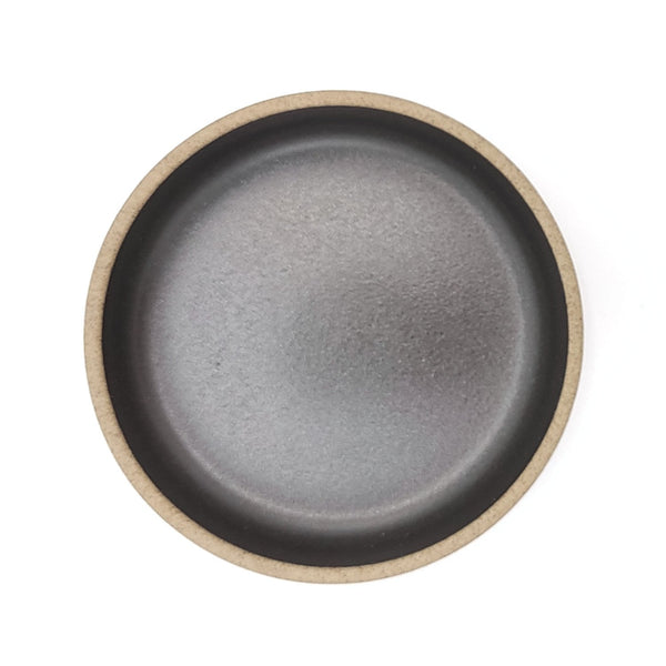 japanese Hasami porcelain small sauce plate black above