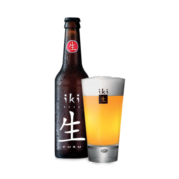 Iki Organic Beer & Yuzu 330ml