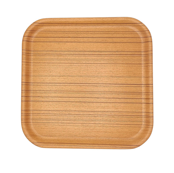 japanese Saito Wooden tray square Plywood above