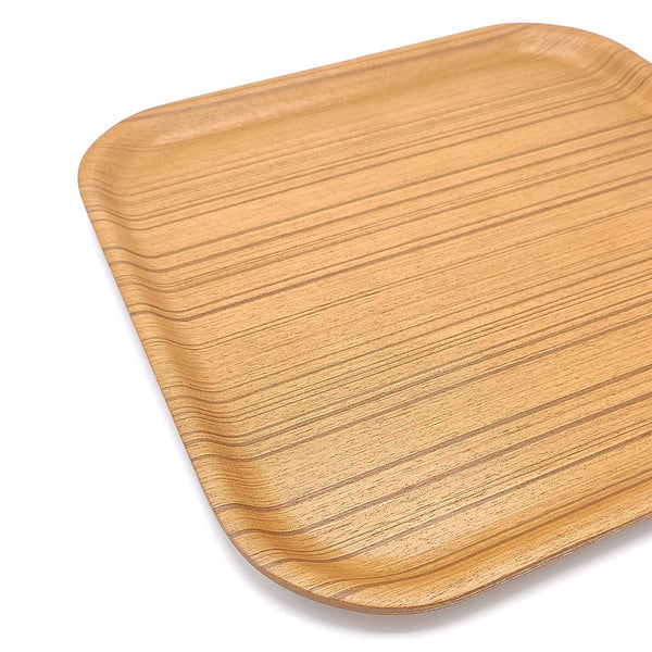 japanese Saito Wooden tray square Plywood side