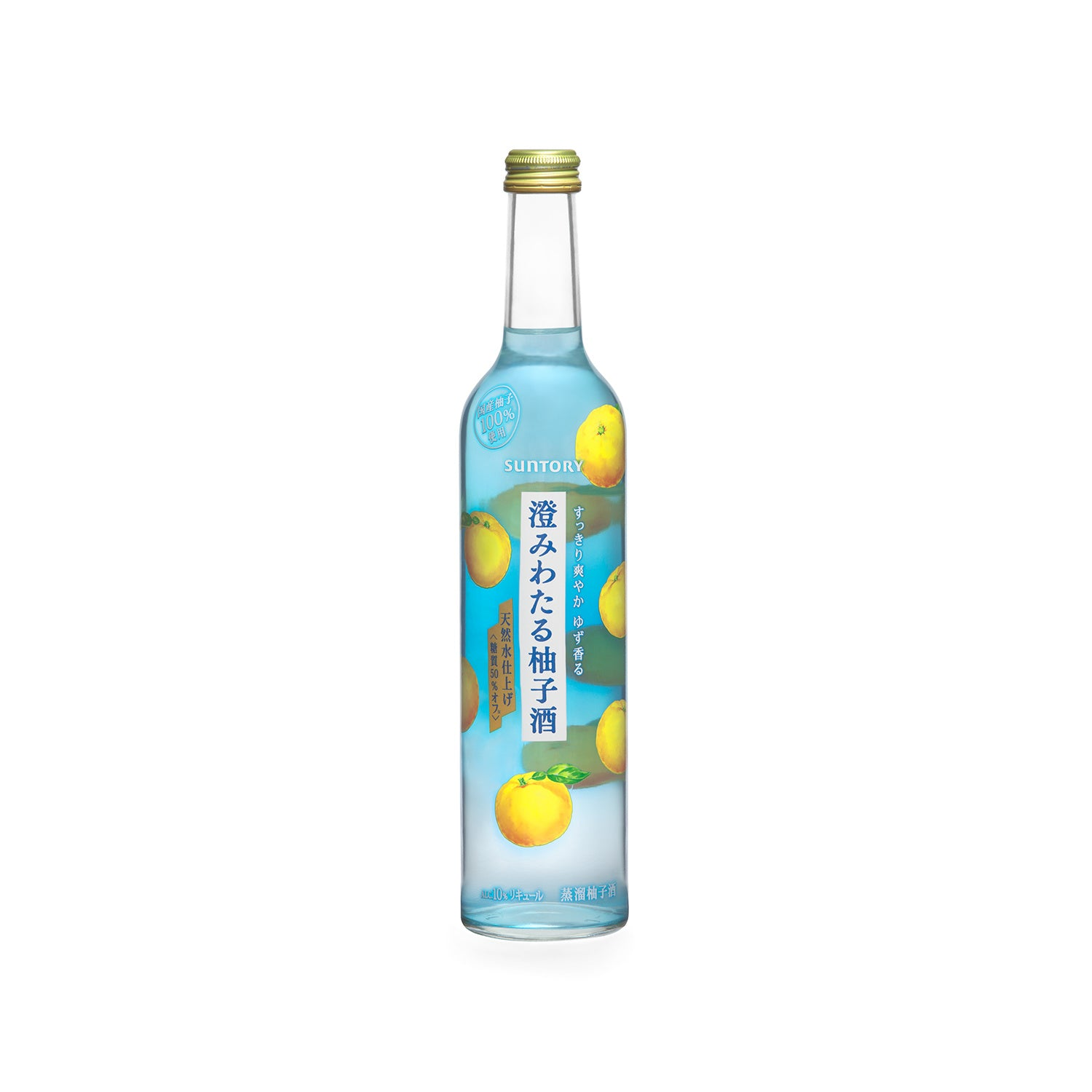 Suntory Clear Yuzu Liqueur 500ml
