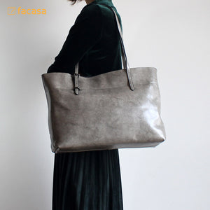 [E20200015] Handcrafted Genuine Leather Handbag
