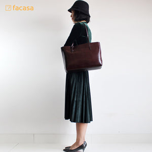 [E20200014] Handcrafted Genuine Leather Handbag