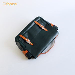 [E20200019] Handcrafted Genuine Leather Hand Bag (Postman Style)
