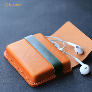 [E20200023] Handcrafted Genuine Leather Card Bags